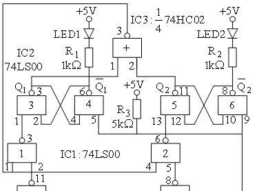 74ls20怎么用(74ls20引脚图_内部逻辑结构及应用电路)