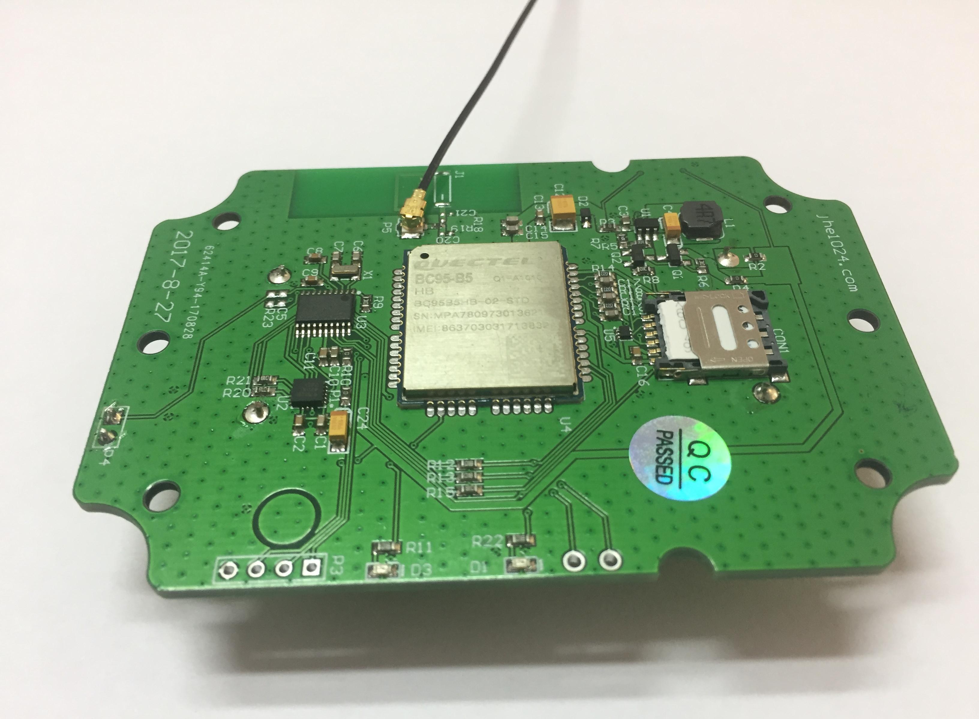 基于STM32L011F4P6/ADXL362加速度传感器/BC95 NB-IOT模块的电杆倾斜报警装置解决方案