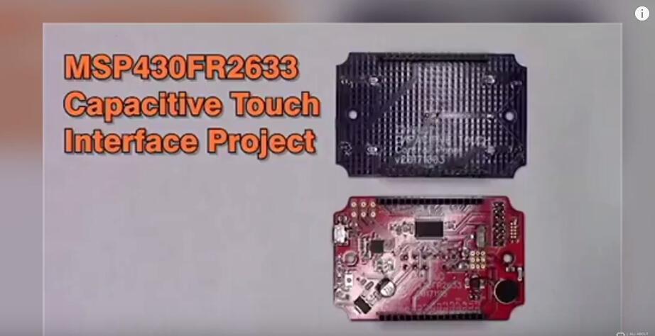 基于MSP430FR2633的电容式触控板的设计与制作