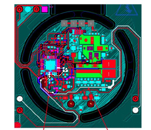 基于ST公司的STWLC04 Qi协议1W无线功率接收方案