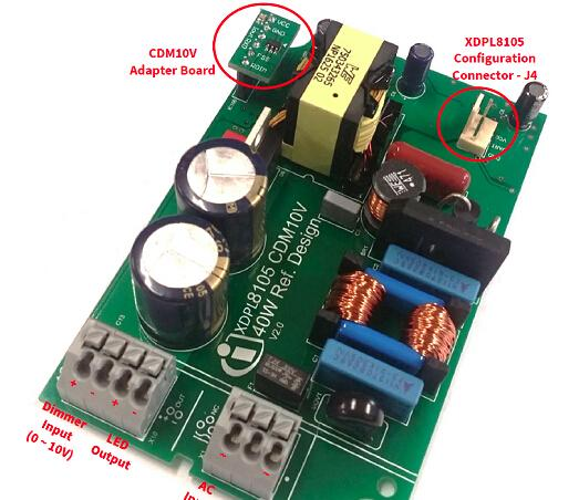 基于Infineon公司的XDPL8105 40W数字配置LED驱动器解决方案