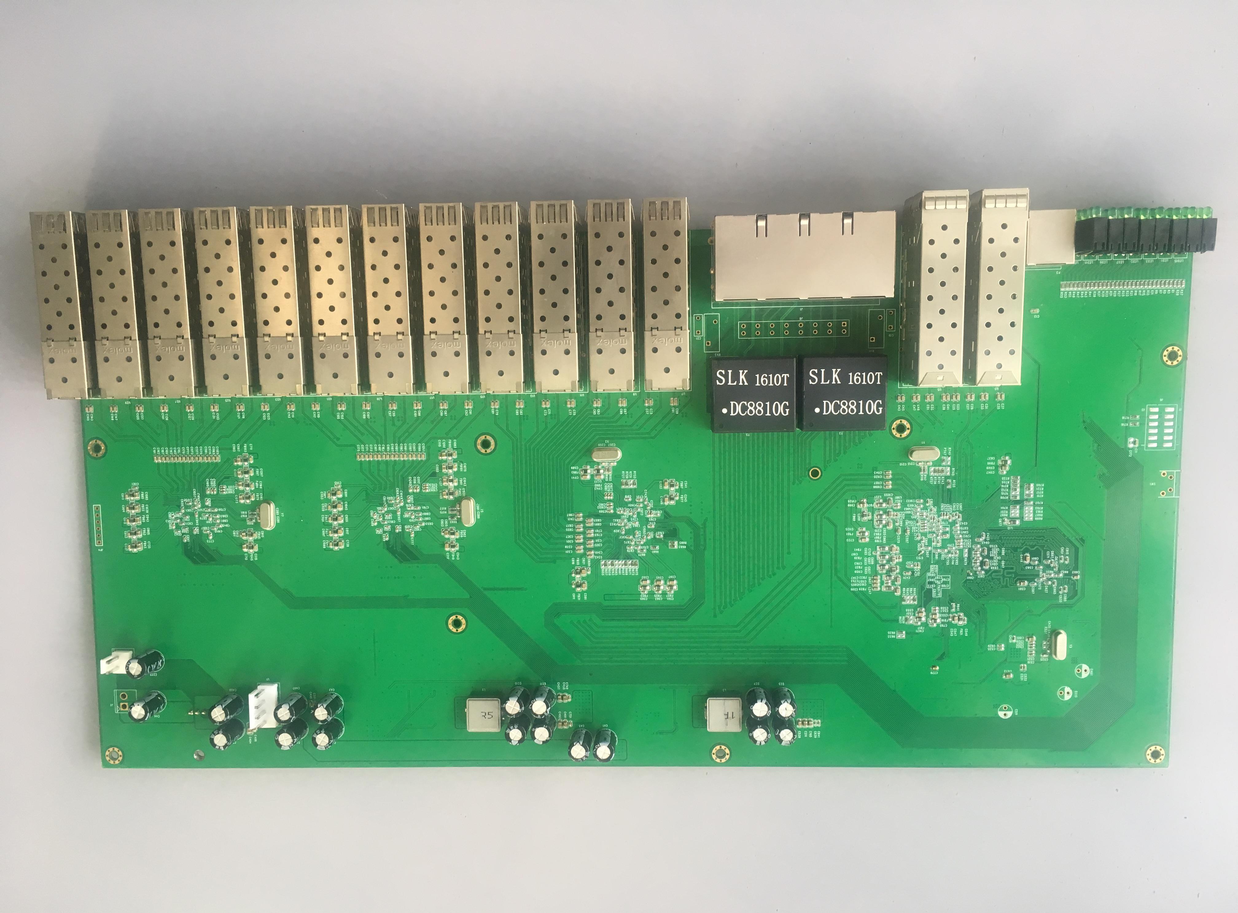 基于博通交换机芯片的万兆交换机BCM5615解决方案