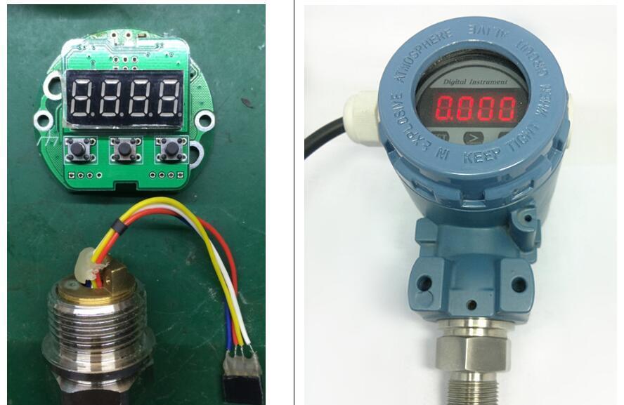 基于MSP430AFE253主控芯片的二线制数显压力变送器解决方案