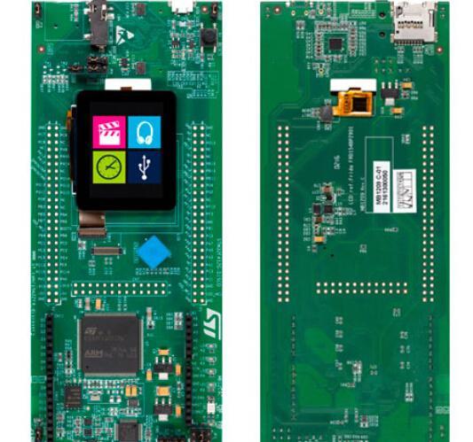 基于ST公司的STM32F412ZG32位ARM MCU Discovery套件开发方案