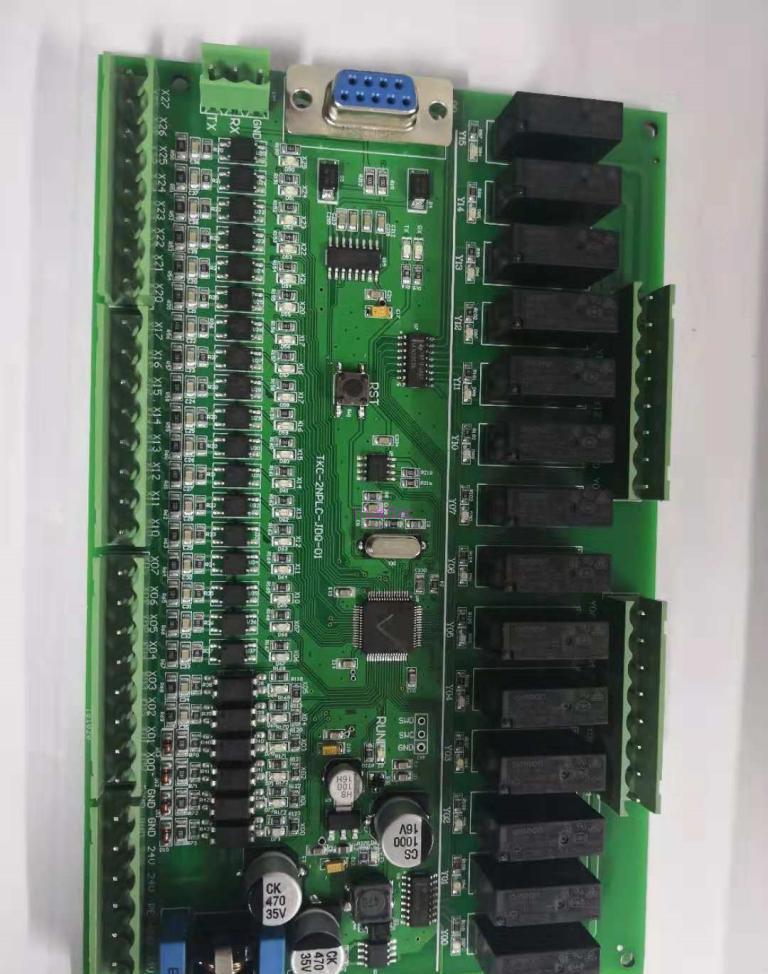 STM32F103RCT6国产三菱PLC FX2N原理图pcb图底层C源码器件清单量产方案