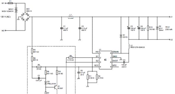 基于NXP公司的SSL5018TE 230V 18W LED T8管灯解决方案