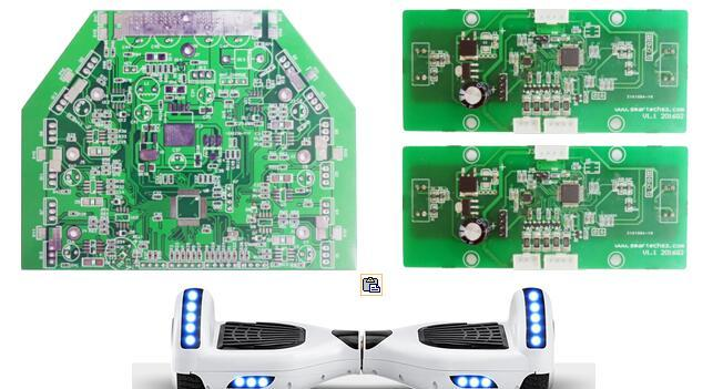 基于stm32f103rct6/stm32f103c6t6a/lsm6ds33/stp100n8f6的智能平衡车控制器方案