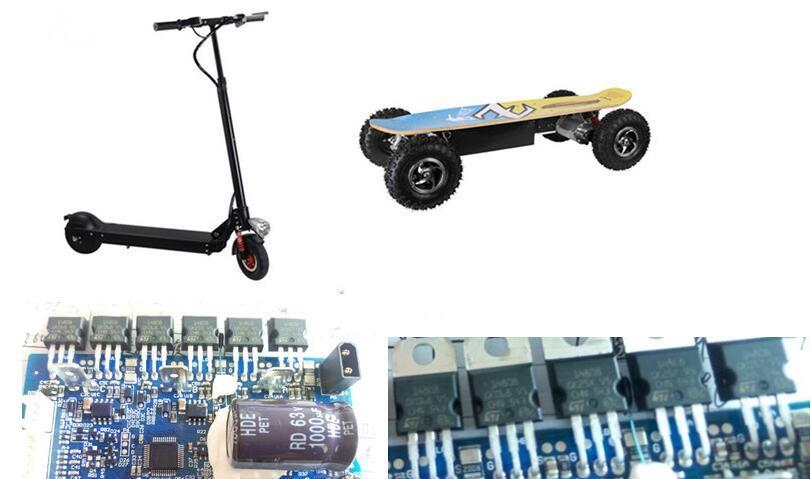 基于STM32F031/STP100N8F6/L4971/L5980的电动滑板车控制器解决方案