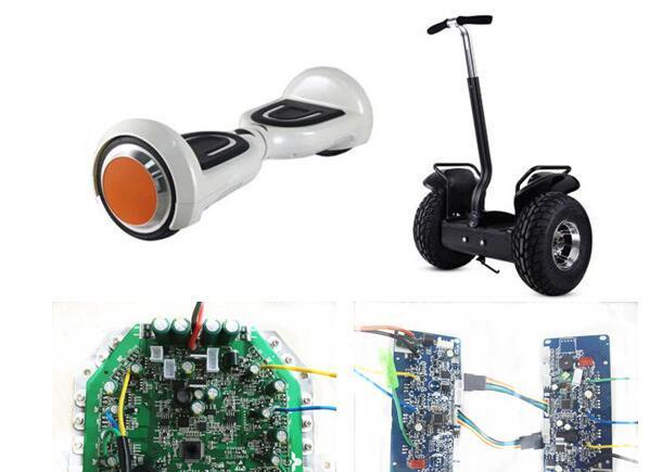 基于STM32F051C8T6/LSM6DS33/L6393/STP100N8F6的平衡车控制器解决方案