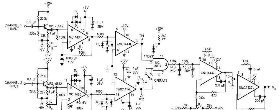 100Hz-1MHz相位计电路图