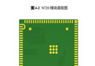4G全网通模组N720 交付形式 : PCBA