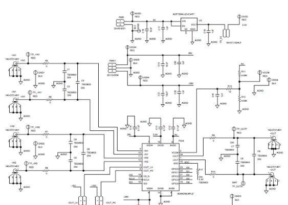ADI ADA4254零飘移高压低功耗可编增益仪表放大器解决方案