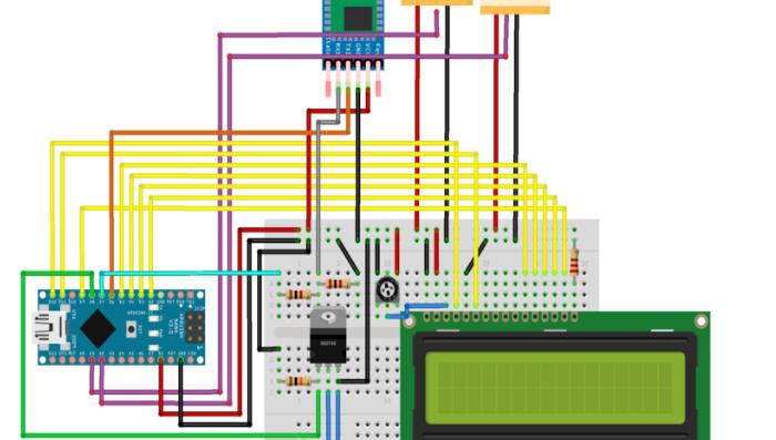 非接触式手势开门器,PCB,源码开源