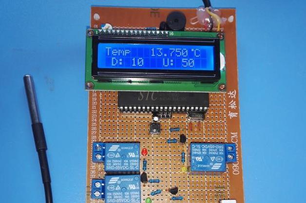 基于51单片机的热水器-继电器控制电路设计方案(源码+电路图)