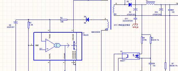 VIPer53 开关电源 12V2A(原理图+PCB)