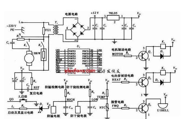 基于SH69P42单片机的豆浆机设计方案