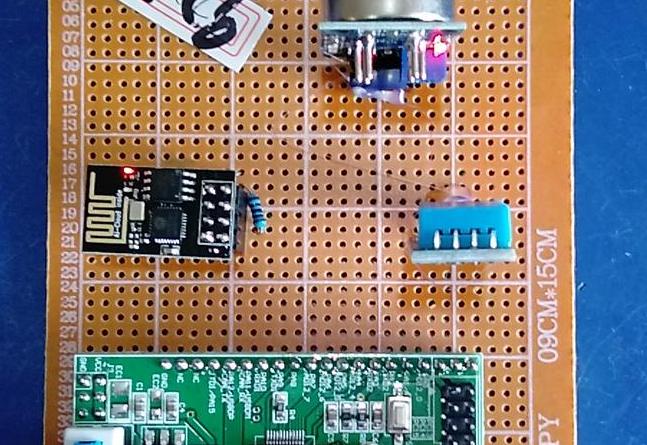 基于STM32单片机的矿井环境监测系统设计-LCD1602-DHT11-(电路图+程序源码)