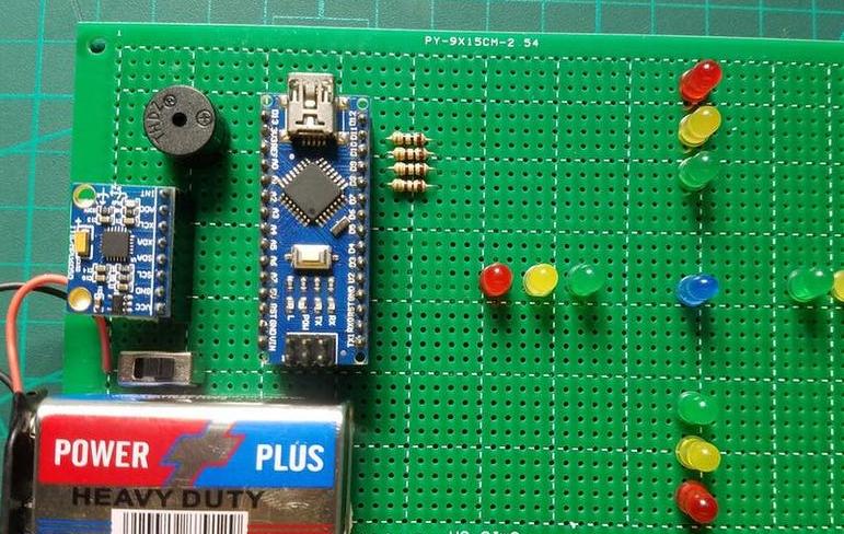 使用Arduino和MPU6050制作LED水平仪