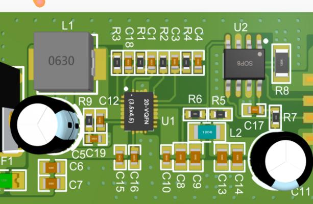 TPS61088A+IP2163升压快充电源模块设计方案(原理图+源码)
