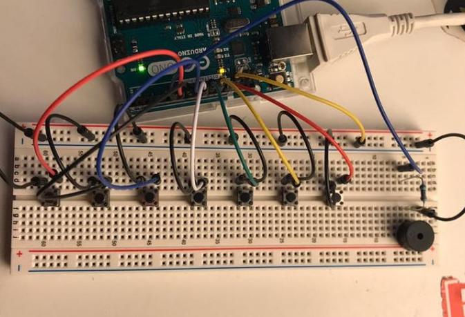 基于Arduino的音乐键盘