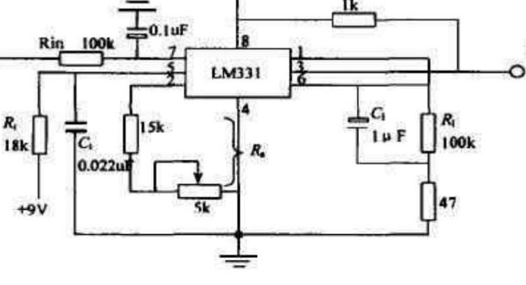 电压/电流与电压/频率转换电路(V/I、V/F电路)