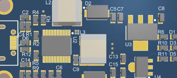 USB输入转多电压输出电源
