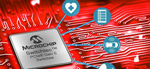 Microchip发布世界首款PCI Express5.0交换机,加速机器学习和超大规模计算基础设施发展