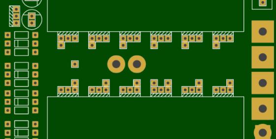 DIY 1000W纯正弦波12v-220v逆变器(EGS002 16 MOSFET板)
