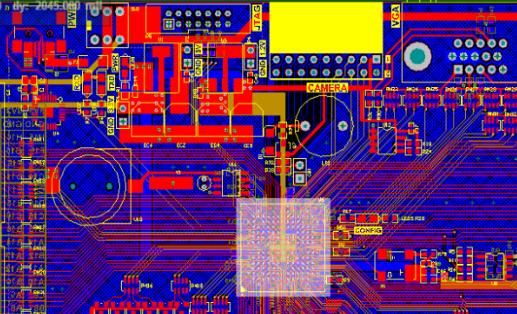 Spartan6 XC6SLX9 FPGA开发板ALTIUM硬件原理图+PCB+封装库