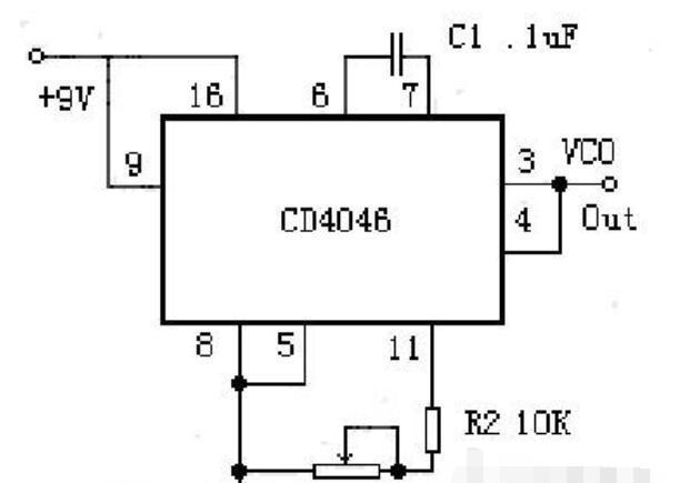 cd4046原理及经典电路图