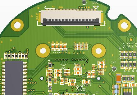已量产的摄像头sensor(IMX036)原理图PCB