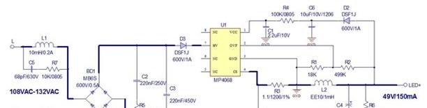 MPS极简高兼容性可控硅调光LED方案