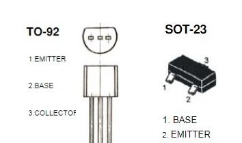 s8050三极管参数、引脚图及封装、放大电路图、好坏判断及代换型号的介绍