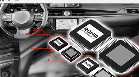 "ROHM开发出SerDes IC""BU18xMxx-C""以及摄像头用PMIC""BD86852MUF-C"""