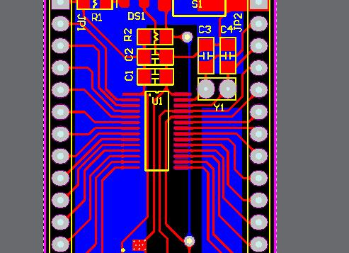 MSP430 最小系统 单片机 G2553 原理图 电路图 PCB (Altium desiger)