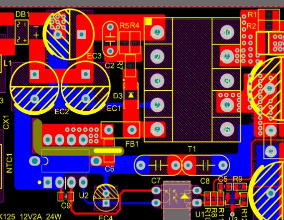 基于东科DK125_12V2A_24W的开关电源