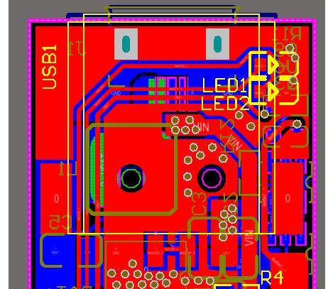 基于IP5305的移动电源模块