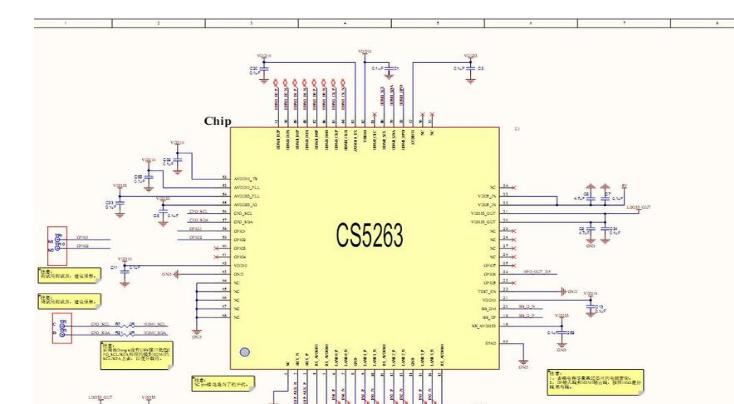 CS5263|DP转HDMI 4K60HZ转换方案|DP转HDMI 2.0转换电路