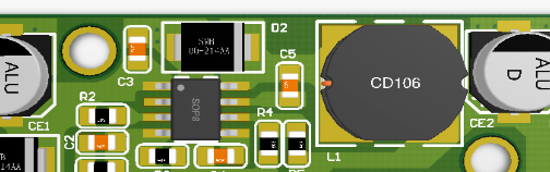 MP24943 DC DC降电压模块 AD工程文件 PCB