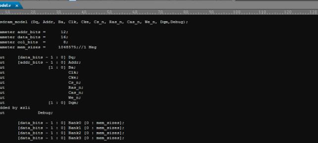 FPGA设计 IC设计 at24c16 sdram dpsram sram 器件VERILOG仿真模型源码