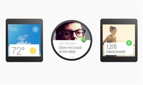 Google发布了AndroidWear平台