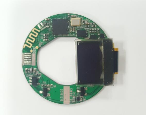 智能运动健康石英表机芯核心板CW49