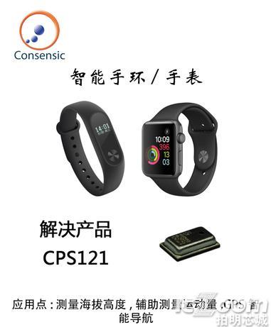 智能手环/手表解决产品--CPS121数字绝压传感器.png