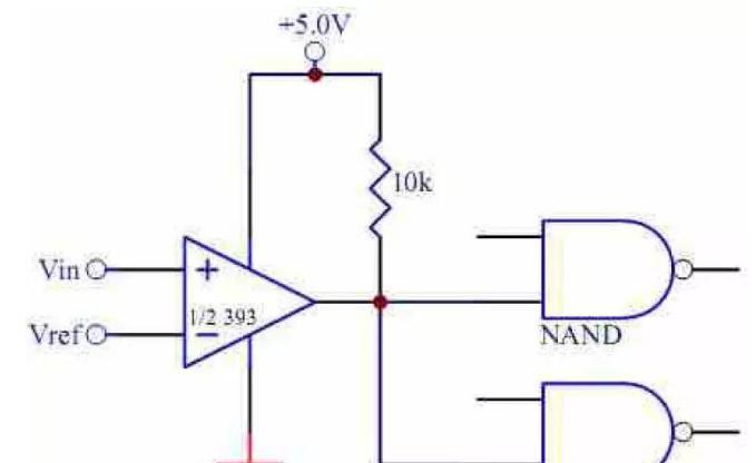 LM393 驱动TTL 的电路.png