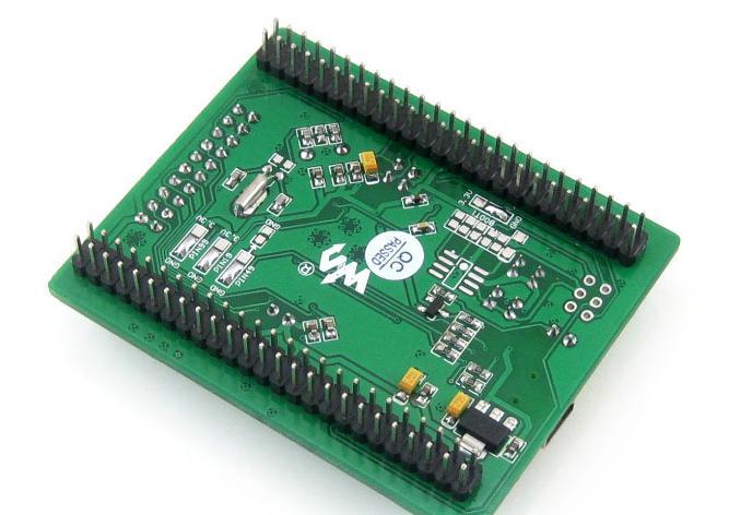 STM32 Cortex M3开发板背面图.png
