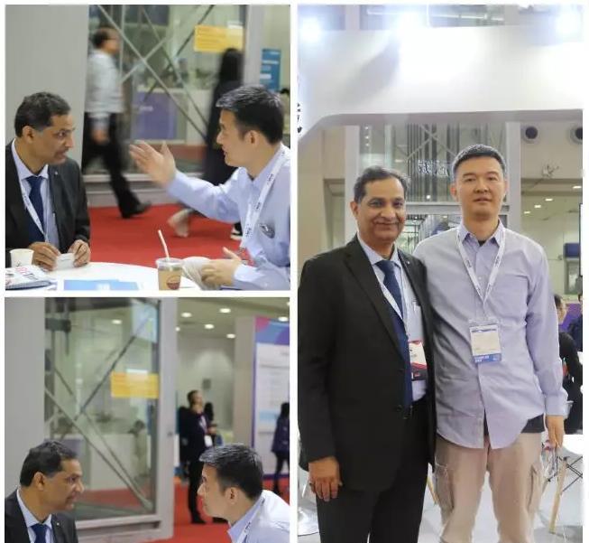 拍明芯城CEO 夏磊接受印度ELETimes采访,相谈甚欢.png