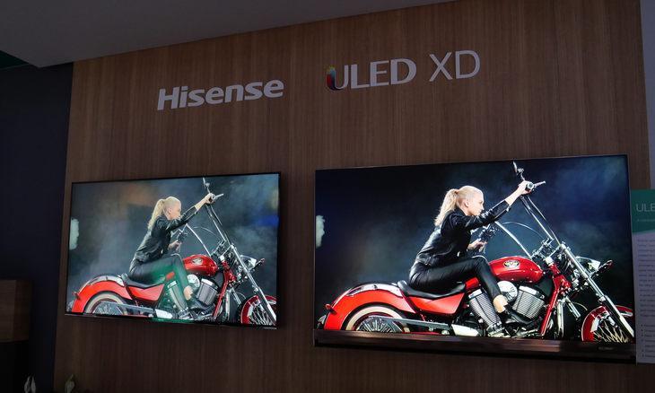 海信CES 2019展出70英寸三色激光电视 与液晶电视展开正面交锋