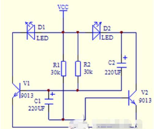 电子闪光灯电路原理图.png