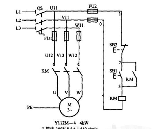 电动机自锁控制电路图附自锁正转控制线路、控制线路实物连接示意图和原理 - 海猎网-皇朝游戏