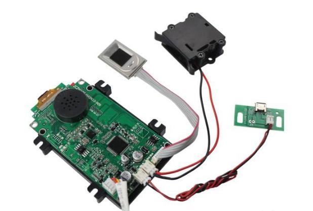 智能指纹锁方案 交付形式 : PCBA.png